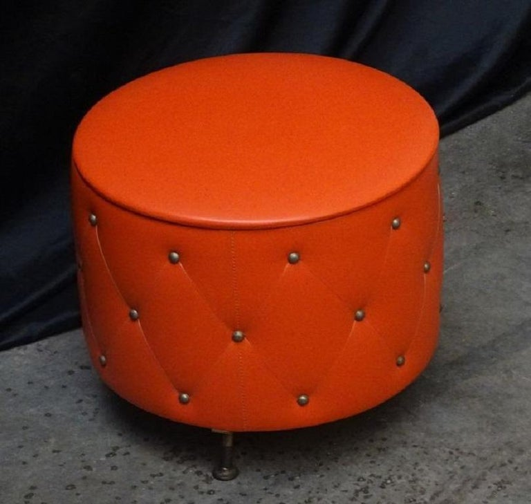 Midcentury Ottoman Stool or Hidden Storage Box, 1960s 3