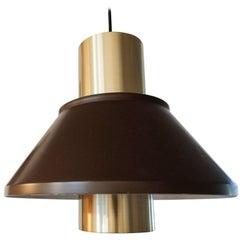 Midcentury Pair of Life Lamps by Jo Hammerborg for Fog & Mørup