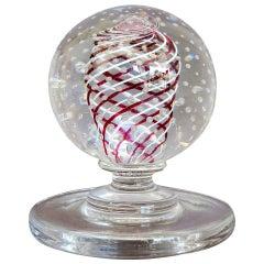 Midcentury Pairpoint Art Glass Sculpture