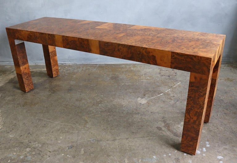 Midcentury Patchwork Table by Paul Evans For Sale 3