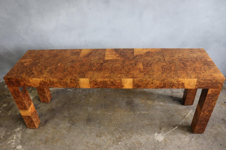Mid-Century Modern Midcentury Patchwork Table by Paul Evans For Sale