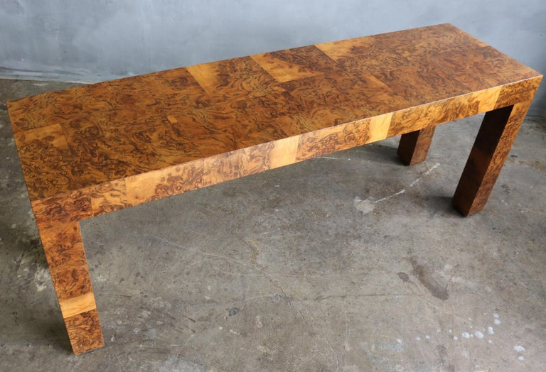 Midcentury Patchwork Table by Paul Evans In Good Condition For Sale In BROOKLYN, NY