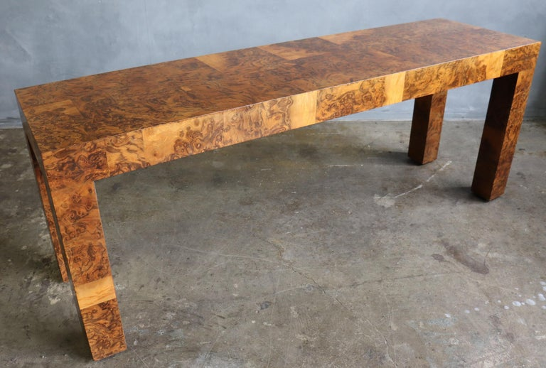 20th Century Midcentury Patchwork Table by Paul Evans For Sale
