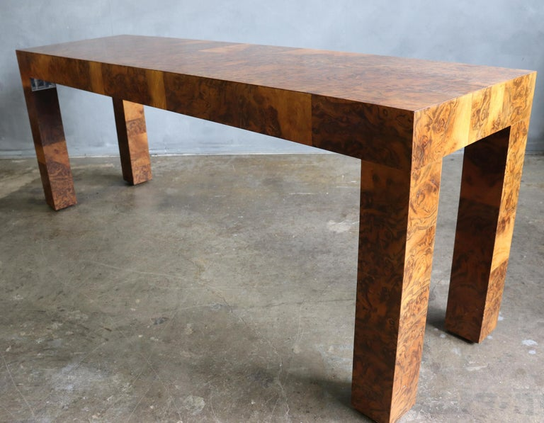 Midcentury Patchwork Table by Paul Evans For Sale 1