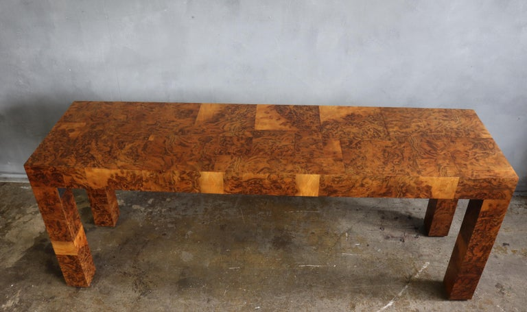 Midcentury Patchwork Table by Paul Evans For Sale 2
