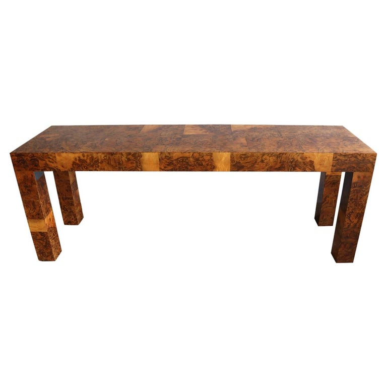 Midcentury Patchwork Table by Paul Evans For Sale