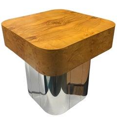 Midcentury Paul Evans Burl Cityscape Table