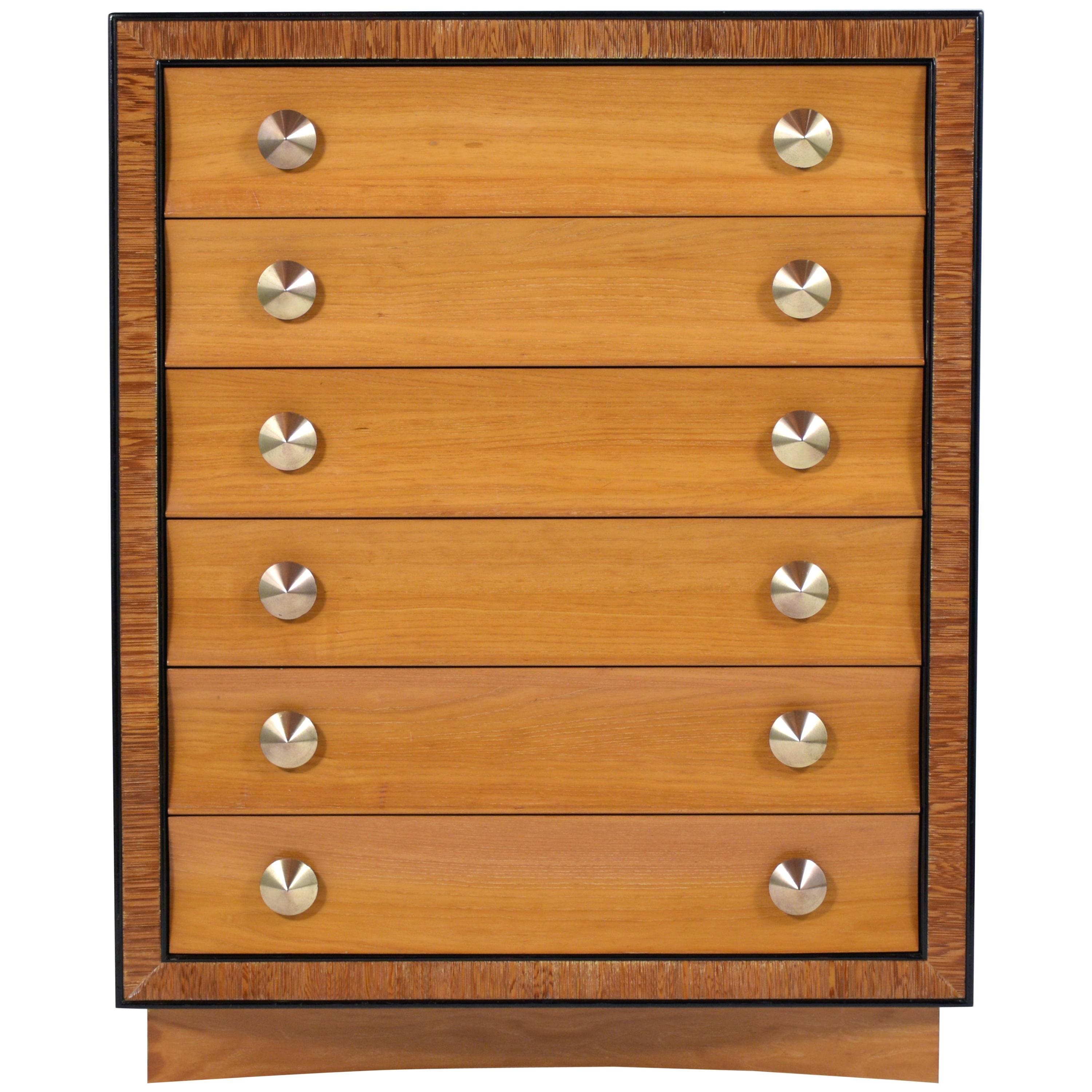 Mid Century Paul Frankl Chest of Drawers