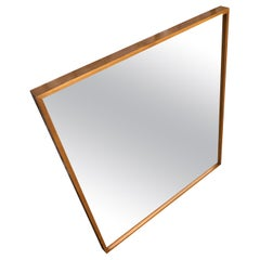 Midcentury Paul McCobb blonde Maple Wall Mirror