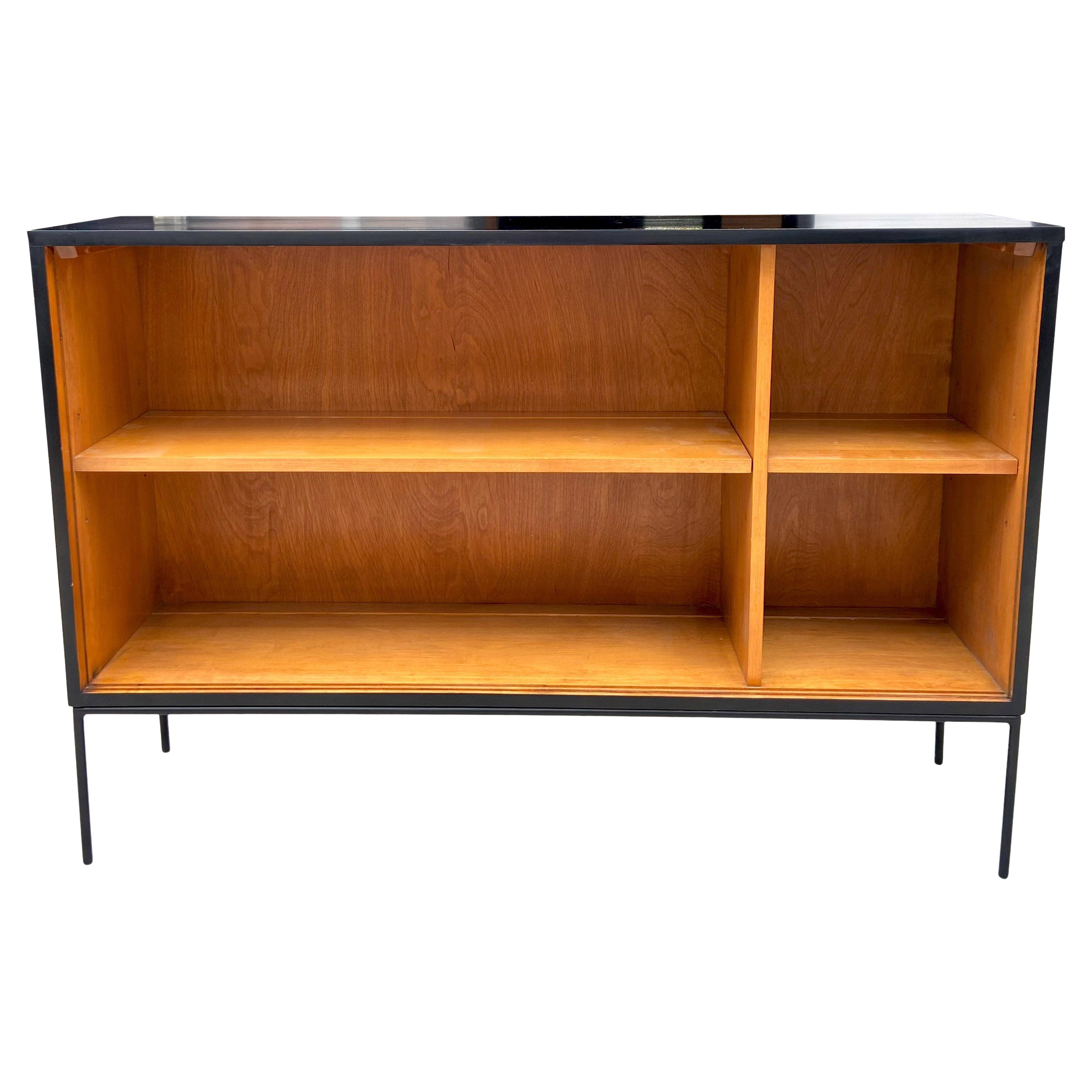 Midcentury Paul McCobb Single Wide Bookshelf Two Toned