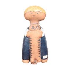"""Midcentury """"Pelle"""" Figurine by Lisa Larson, 1960s"""