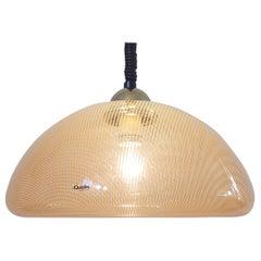 Midcentury Pendant Designed by Harvey Guzzini, Italy, 1970s