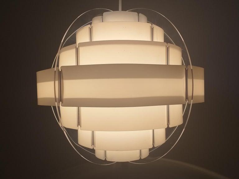 Midcentury Pendant Designed by Preben Jacobsen & Flemming Brylle, Denmark, 1970s For Sale 2