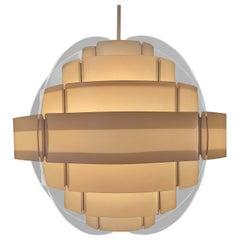 Midcentury Pendant Designed by Preben Jacobsen & Flemming Brylle, Denmark, 1970s