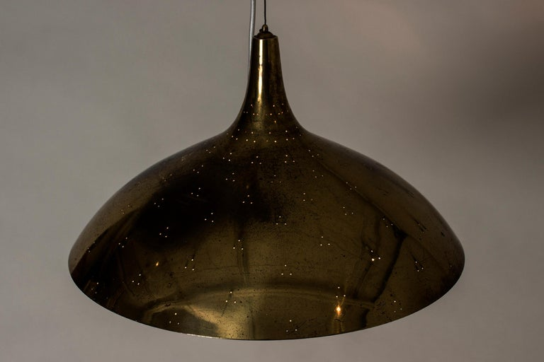 Midcentury Pendant Lamp by Paavo Tynell for Taito Oy, Finland, 1950s 4