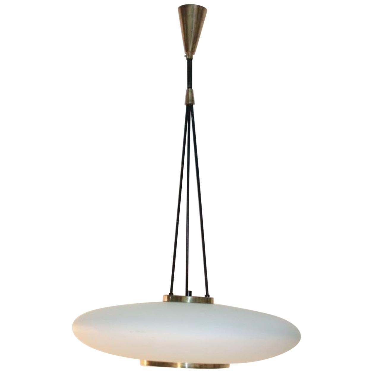 Midcentury Pendant Lamp by Stilnovo