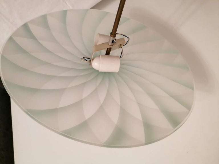 Midcentury Pendant Lamp In Good Condition For Sale In Vienna, AT