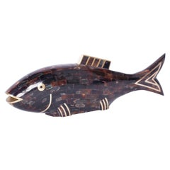 Midcentury Penshell Fish