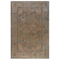 Midcentury Persian Tabriz Rug