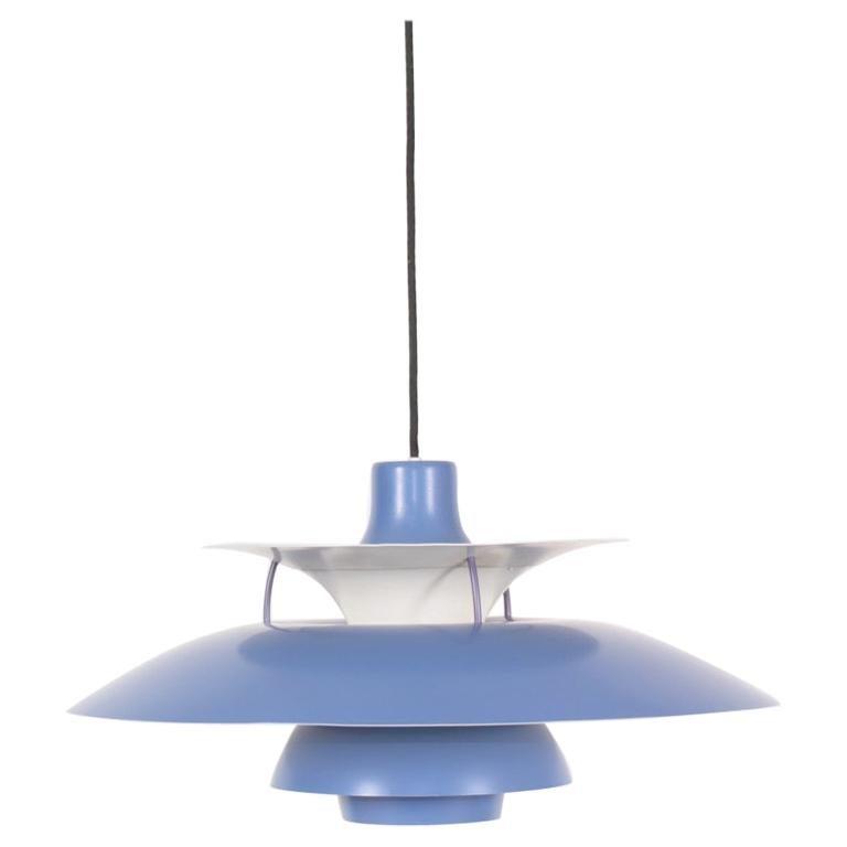"""Midcentury """"PH5"""" Pendant by Poul Henningsen, Danish Design, 1950s"""
