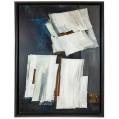 Midcentury, Pierre Fichet Abstract Painting