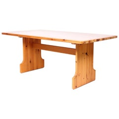 Midcentury Pine Dining Table by Karl Andersson and Söner