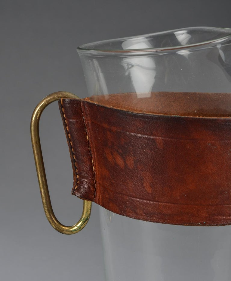 Midcentury Pitcher Jug by Carl Auböck In Good Condition In Vienna, AT