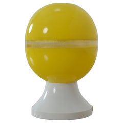 Midcentury Plastic Table Lamp, 1970s