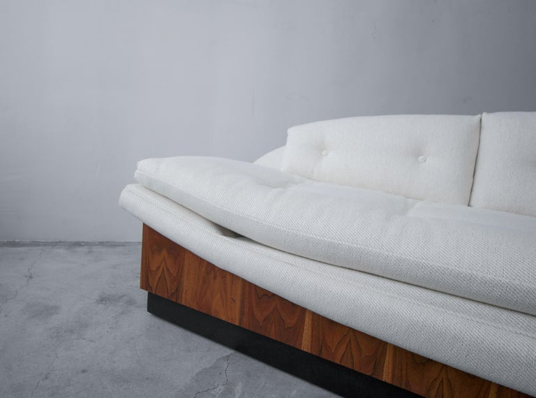 20th Century Midcentury Platform Gondola Sofa by Adrian Pearsall For Sale