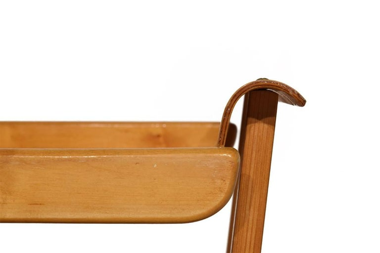 Mid-Century Modern Midcentury Plywood Trolley by Cees Braakman for Pastoe, Netherlands, 1950 For Sale