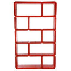 Midcentury Pop Art Plastic Umbo Shelves by Kay Leroy Ruggles for Directional