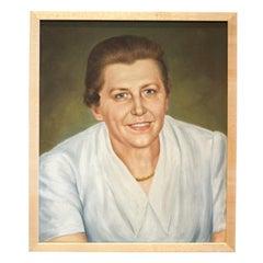 Midcentury Portrait of a Lady, c. 1970s