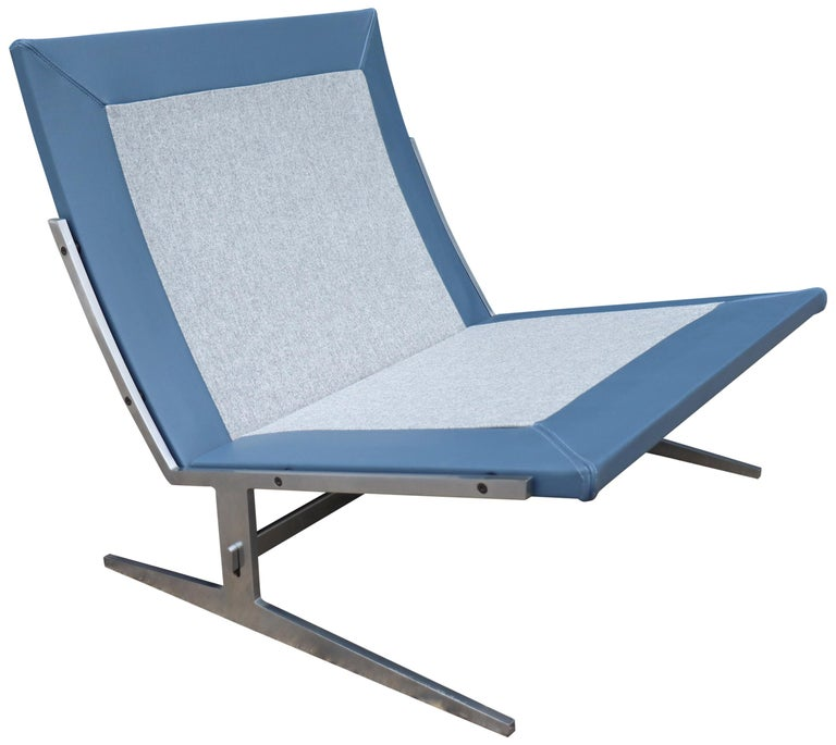 Midcentury Preben Fabricus & Jorden Kastholm Lounge Chair For Sale 4