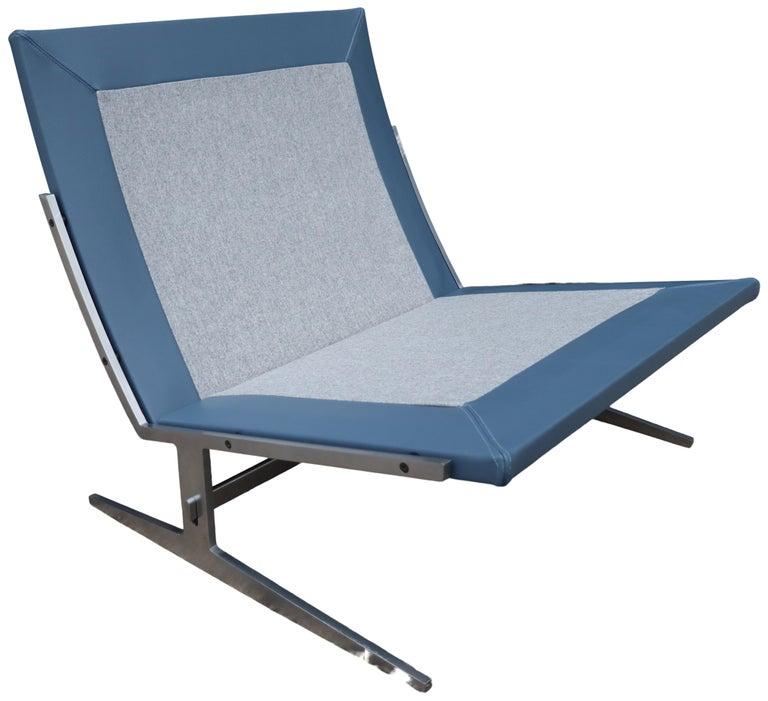 Midcentury Preben Fabricus & Jorden Kastholm Lounge Chair For Sale 5