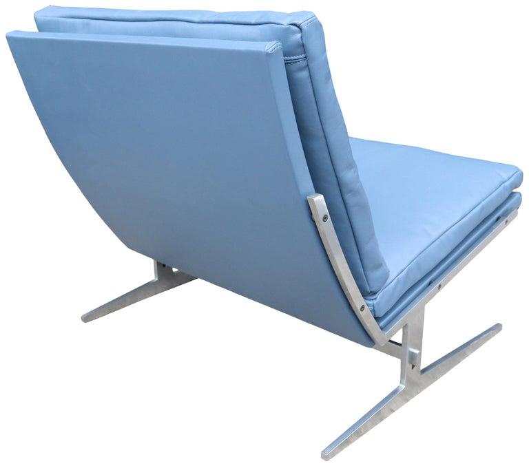 Mid-Century Modern Midcentury Preben Fabricus & Jorden Kastholm Lounge Chair For Sale