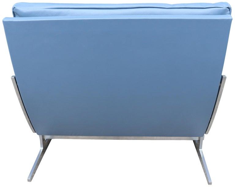 Danish Midcentury Preben Fabricus & Jorden Kastholm Lounge Chair For Sale