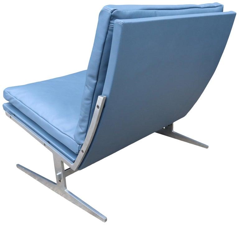 20th Century Midcentury Preben Fabricus & Jorden Kastholm Lounge Chair For Sale
