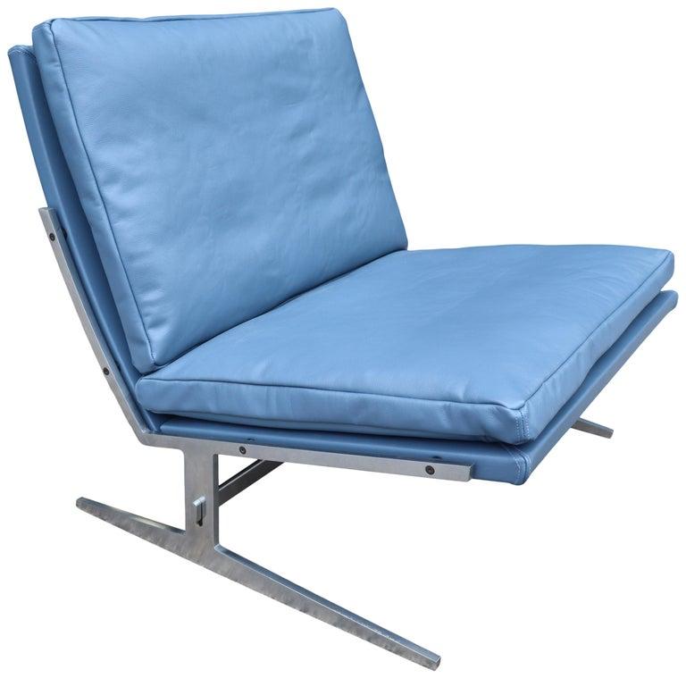 Midcentury Preben Fabricus & Jorden Kastholm Lounge Chair For Sale 1