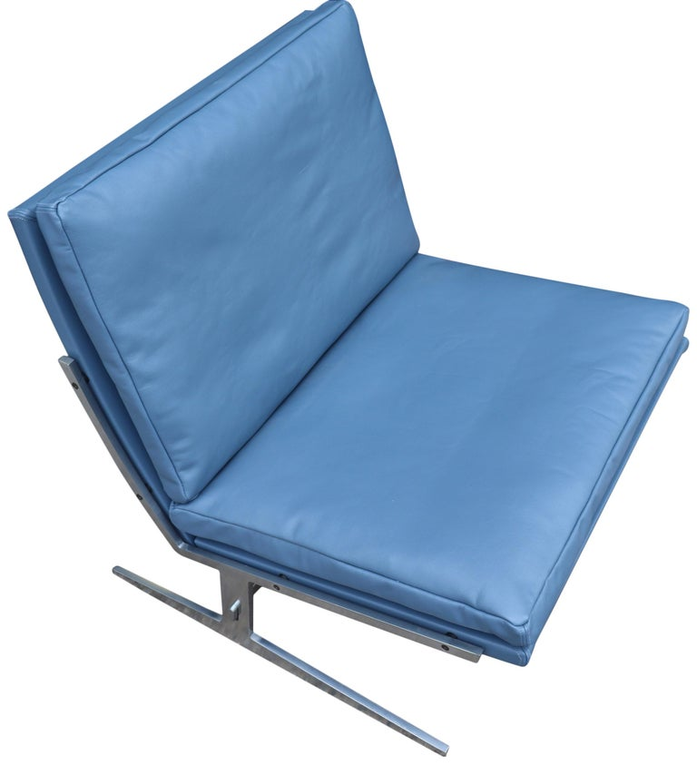 Midcentury Preben Fabricus & Jorden Kastholm Lounge Chair For Sale 2