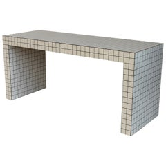 """Midcentury """"Quaderna"""" Coffee Table or Bench by Superstudio, Italy, circa 1972"""
