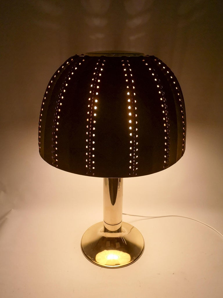 Midcentury Rare Table Lamp Model B204