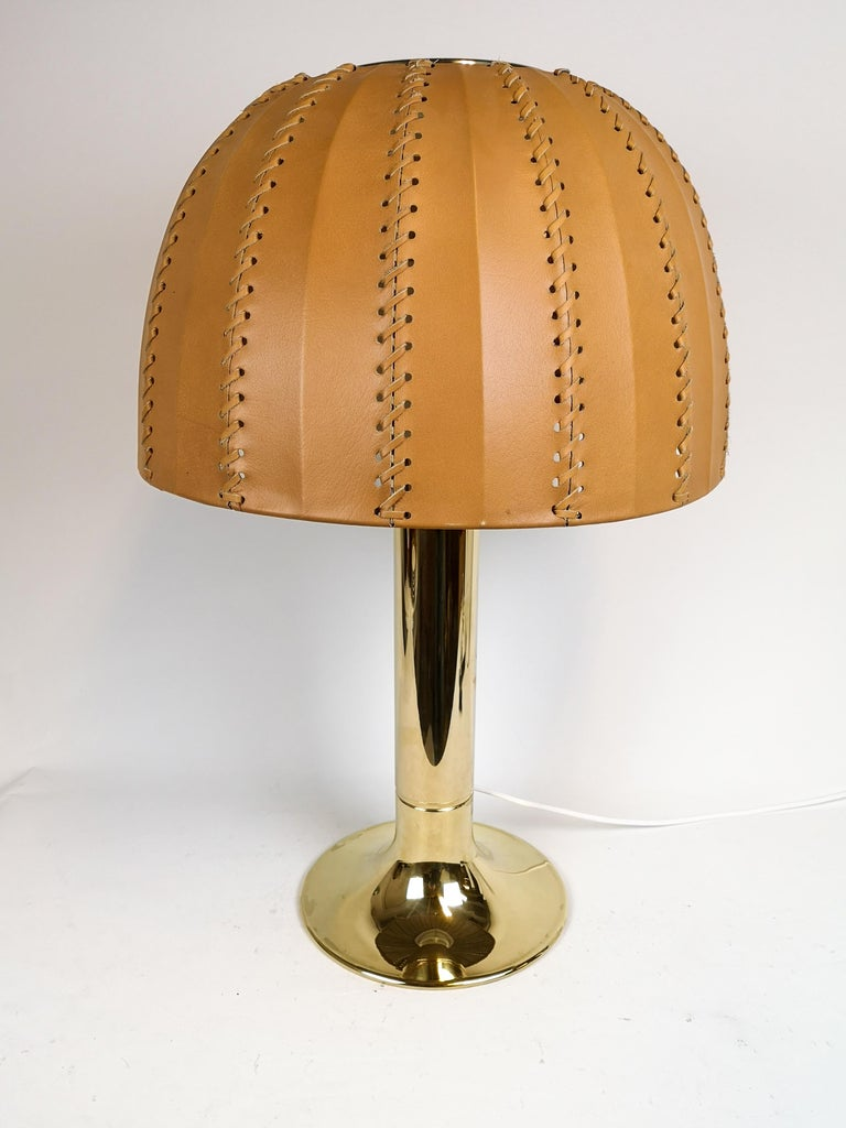 Scandinavian Modern Midcentury Rare Table Lamp Model B204