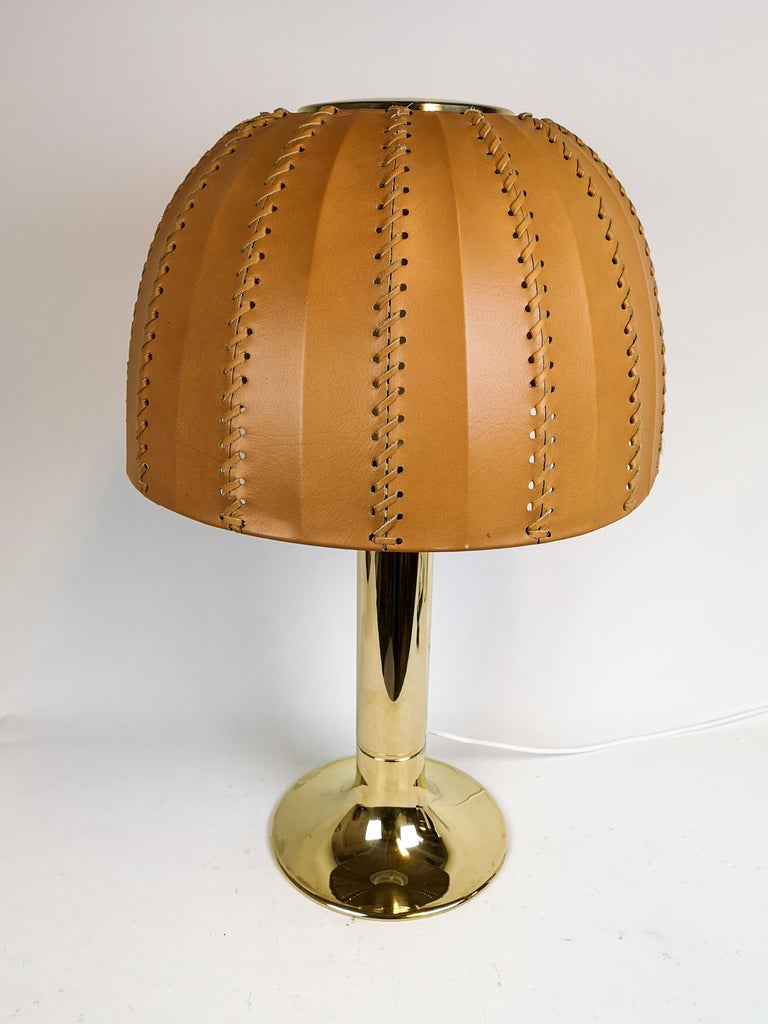 Swedish Midcentury Rare Table Lamp Model B204