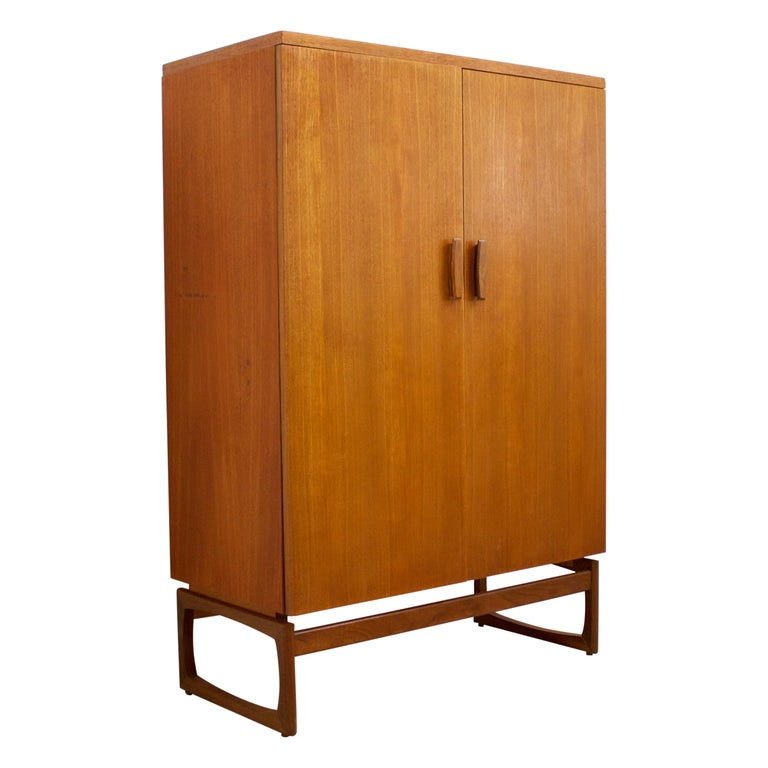 Midcentury Retro Quadrille Compactum Wardrobe by G-Plan, 1960s For Sale