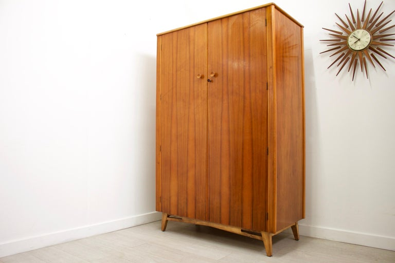 - Mid-Century Modern wardrobe.