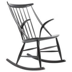 Midcentury Rocking Chair by Illum Wikkelsø