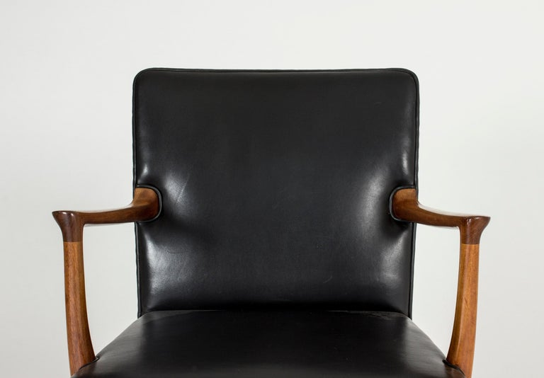 Midcentury Rocking Chair by Ole Wanscher For Sale 1