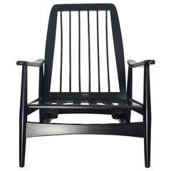 Midcentury Rocking Chair by Silleria La Malinche