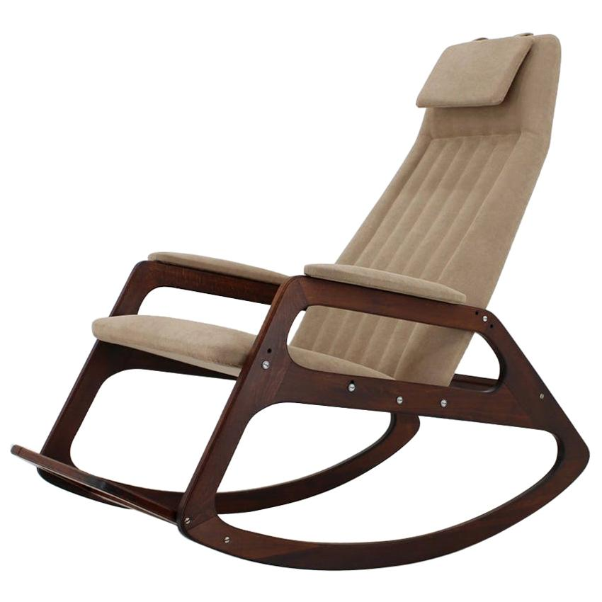 Midcentury Rocking Chair by ULUV, 1960s