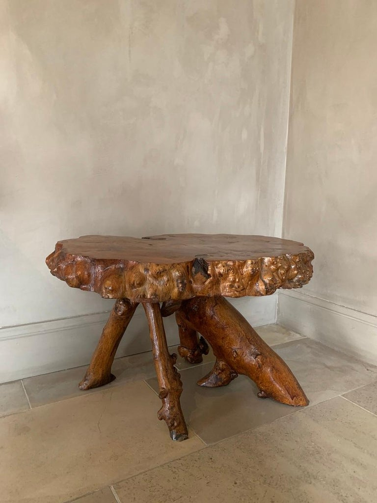 Midcentury Root Table For Sale 3